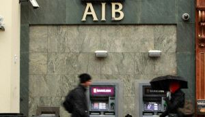 AIB tumbled 2.18 per cent to €3.772, while Bank of Ireland slid 2.42 per cent to €5.24. Photograph: PA