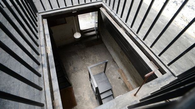 The Hang House of Mountjoy prison. Photograph: Bryan O'Brien/The Irish Times