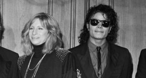 File image of Barbra Streisand and Michael Jackson. File photograph: Getty Images File image of Barbra Streisand and Michael Jackson. File photograph: Getty Images