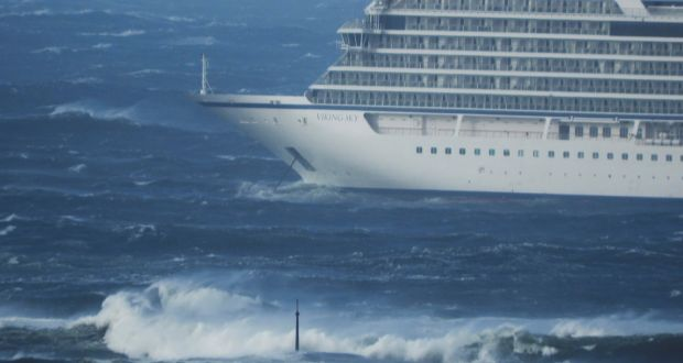 Stricken cruise ship reaches Norway port after 'near disaster'