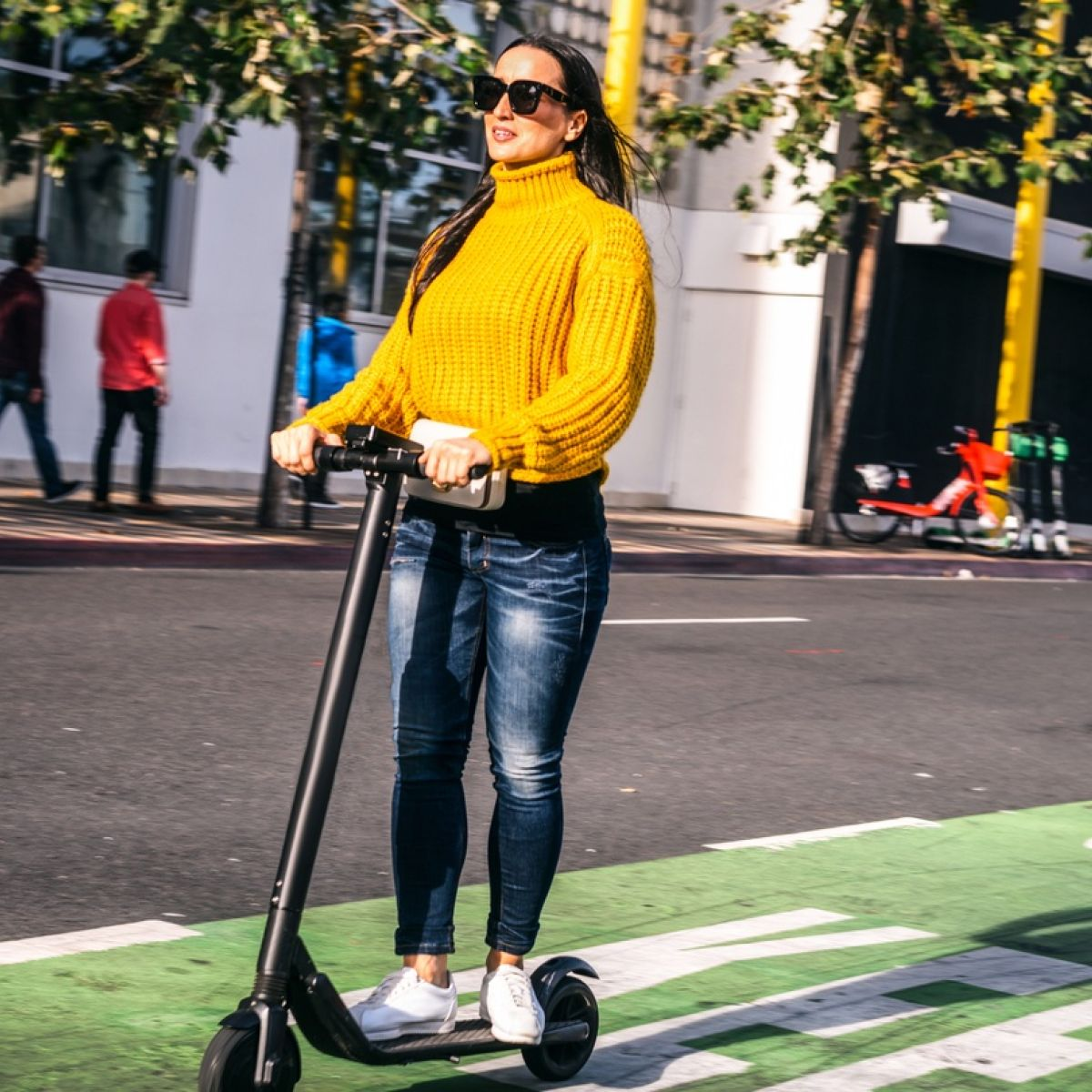 Electric scooters could save time and money but they remain