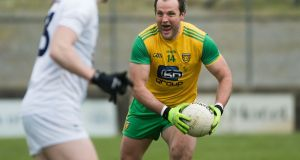 Donegal's Michael Murphy in action against Kildare. Photograph: Evan Logan/Inpho