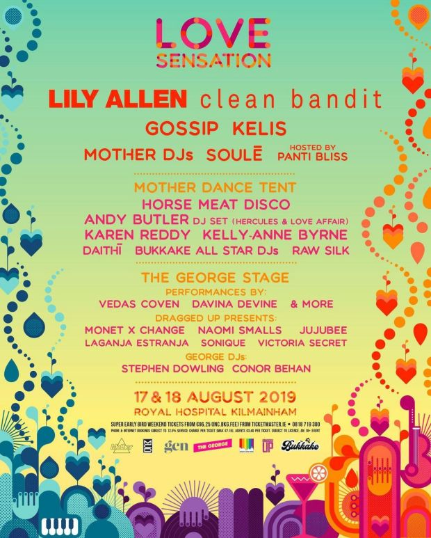 Lily Allen, Clean Bandit and more will headline the inaugural lineup