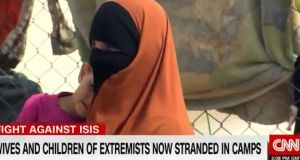 'I think the people here should realise all the people here are not terrorists,' Lisa Smith told CNN. Photograph: CNN