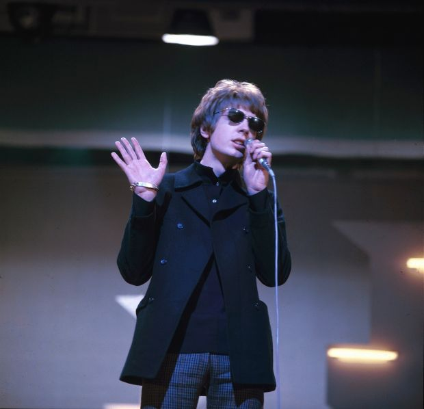 Scott Walker performing on TV show MusicBrainz. Photograph: David Redfern/Redferns