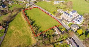 A residential site of 0.77 hectares  on the Enniskerry Road in Kilternan is guiding €3 million