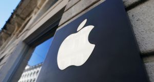 Apple is planning to launch a TV service. Photograph:  Regis Duvignau/Reuters