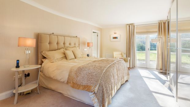 Glendhu, Foxrock: One of the bedrooms