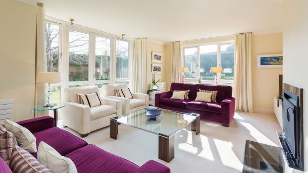 Glendhu Foxrock: One of the living room spaces