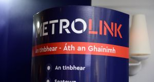 Following pressure from politicians including Taoiseach Leo Varadkar and Minister for Housing Eoghan Murphy, MetroLink will stop at Charlemont to avoid disruption of the Green line. Photograph: Cyril Byrne