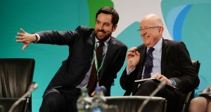 Eoghan Murphy (left), Minister for Local Government, signed orders setting the day for polling, while Minister for Justice Charlie Flanagan (right) will bring proposals to Cabinet about modernising divorce arrangements. Photograph: Alan Betson