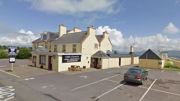 Cable O'Learys bar and restaurant in Ballinskelligs, Co Kerry