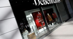 Debenhams said it would continue with its funding plans. Photograph: Peter Nicholls/Reuters