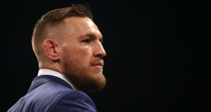 Former UFC featherweight and lightweight champion Conor McGregor has announced his retirement from the sport in a post on his Twitter account. Photograph: PA