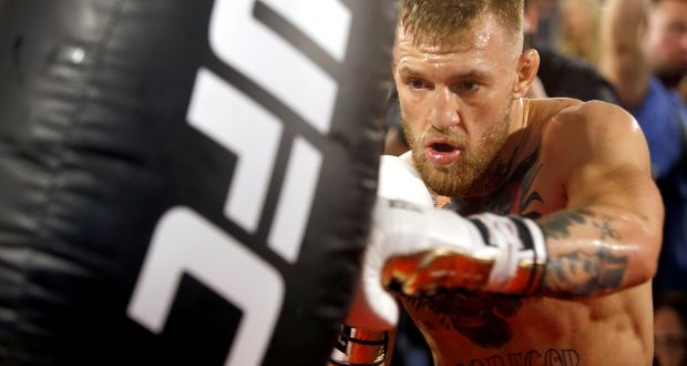 4b9bb656404c73 Conor McGregor announced his retirement on Twitter on Tuesday morning.  Photograph: Reuters