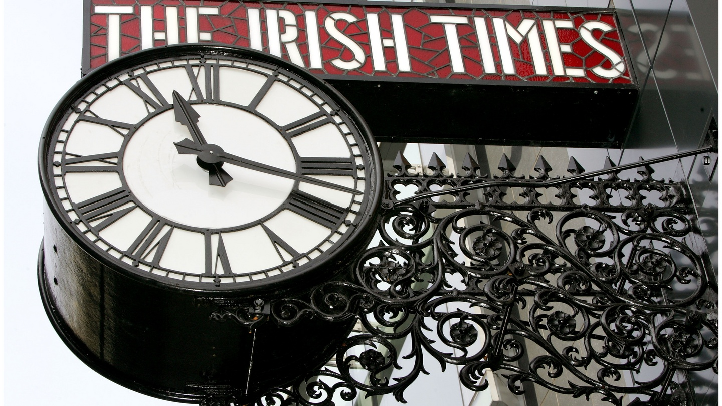 DUBLIN TIME Wall Clock world time zone clock office business