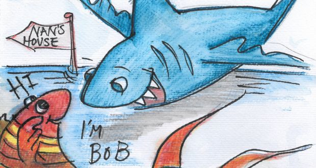 The Adventures of the Scary Flying Shark: A story by 4th