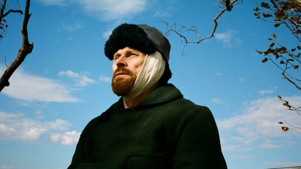 Willem Dafoe as Vincent Van Gogh: the actor so owns At Eternity's Gate that it's difficult to imagine it without him. Photograph: Lily Gavin