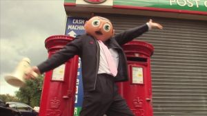 Chris Sievey aka Frank Sidebottom: Friends say that, when wearing the head, Sievey never talked in his own voice