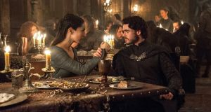 Oona Chaplin and Richard Madden in Game of Thrones. Photograph: Helen Sloan/HBO