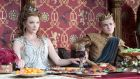 Margaery (Natalie Dormer) and Joffrey (Jack Gleeson) in Game of Thrones. Photograph: Macall B Polay/HBO