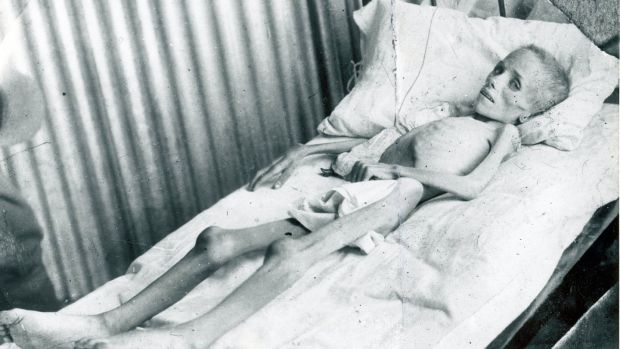 Lizzie van Zyl, a Boer child who died in the Bloemfontein concentration camp established by the British in South Africa during the Boer war. Photograph: Photo12/UIG via Getty Images
