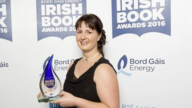 Orla McAlinden on winning the Writing.ie Short Story of the Year Award at the 2016 Irish Book Awards