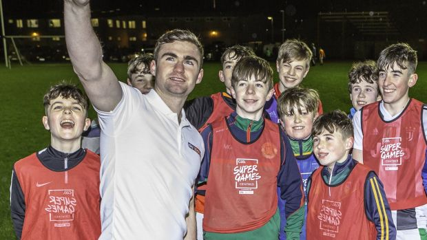 Ryan O'Rourke was speaking at a recent GAA Super Games Centre, in partnership with Sky Sports, which aim to reduce youth drop out in Gaelic games. Photograph: Robert Burke