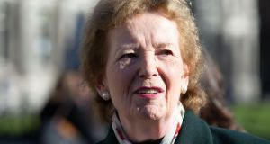Mary Robinson: 'In Africa I saw the devastating impacts [of climate change] on poor farmers, villagers and communities.' Photograph: Tom Honan