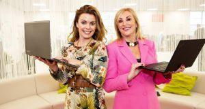 Abodoo co-founder Vanessa Tierney and new non-executive director Linda Kiely