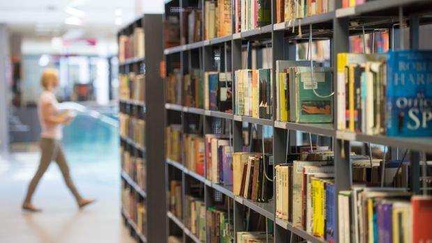 Around 750,000 people are members of a library right now, although there are plans afoot to double that to 1.5 million over the next five years. Photograph: iStock