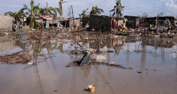 Cholera outbreak hampers efforts to help Mozambique cyclone victims
