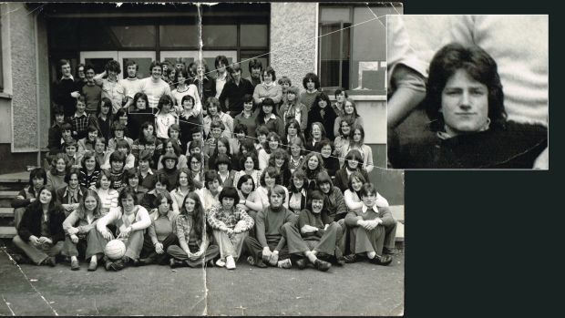 Lot 594: Mount Temple School photograph 1977 with U2 frontman Bono (€150-€200) at Whyte's.