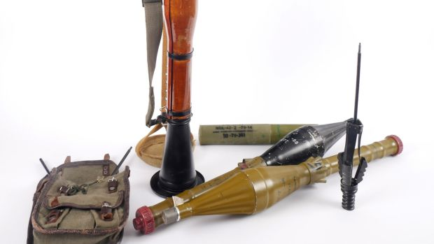 Lot 247: RPG Rocket launcher – deactivated (€4,000-€6,000) at Whyte's.