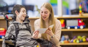 Under the pilot project, SNAs will be automatically provided to schools at the start of the school year based on their profile rather than number of pupils diagnosed with disabilities. Photograph: iStock