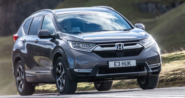 Honda Cr V Two Engines Are Offered Up In Ireland The 2