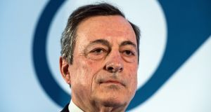 ECB president Mario Draghi indicated that the EU regulator is looking at ways of easing the impact of negative interest rates.