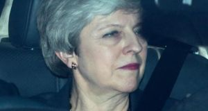 British prime minister Theresa May announced on Wednesday that she would not remain in her post for the next phase of Brexit negotiations. Photograph: Jack Taylor/Getty Images