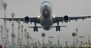 Government lost a number of votes on the Bill and the House accepted Opposition amendments to impose financial penalties where aircraft breach stipulated noise levels. File photograph: Alan Betson/The Irish Times
