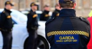Operation Hybrid has so far carried out 73,000 armed checkpoints across the city in an effort to foil feud-related killings. File photograph: Dara Mac Dónaill/The Irish Times