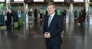 "Sean Doyle says he was ""flattered and surprised"" to be asked to take over as Aer Lingus chief executive. Photograph: Dara Mac Dónaill"