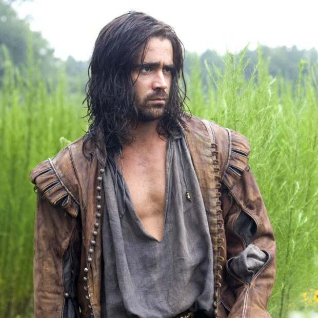 Colin Farrell in The New World, from 2005