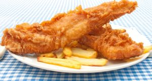 Beer-battered fish: the perfect dinner for a cold night in April. Photograph: iStock