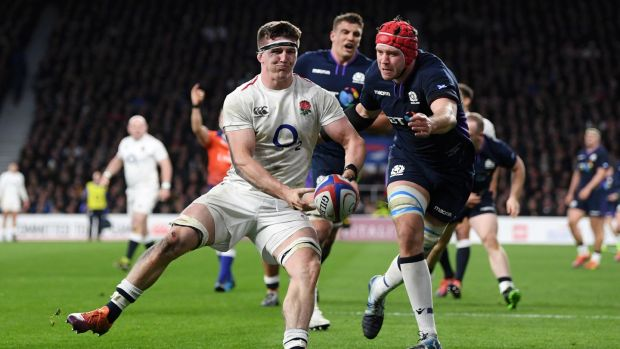 Sale's Tom Curry enjoyed a strong Six Nations campaign with England. Photograph: Shaun Botterill/Getty