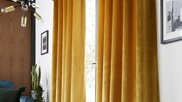 Off-the-peg curtains from Oxendales