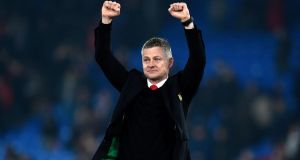 Ole Gunnar Solskjær has been handed a three-year deal as Manchester United manager. Photograph: Will Oliver/EPA