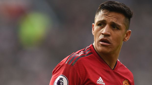 Alexis Sánchez has failed to have the impact expected at Manchester United since his arrival from Arsenal. Photograph: by Oli Scarff/AFP/Getty Images