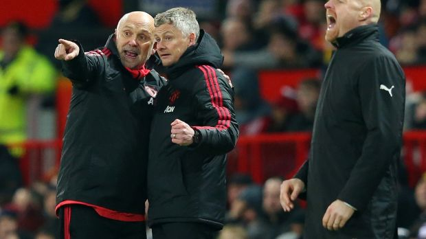 Ole Gunnar Solskjær has brought Mike Phelan back to the club as part of his management team. Photograph: Alex Livesey/Getty Images