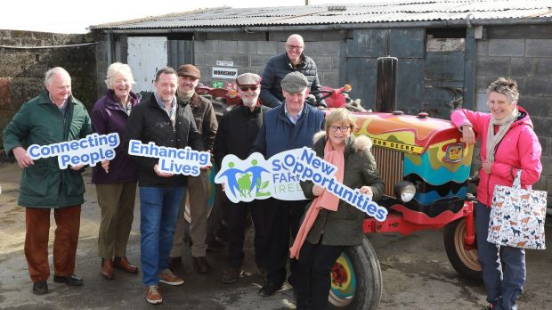 Social farmers from Waterford, Tipperary, Kilkenny and Carlow: the scheme is about exposing people to life skills within a family as well as teaching basic farming skills.