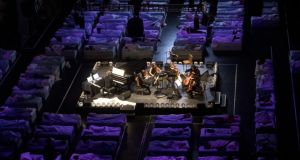 Max Richter's Sleep: the SXSW performance. Photograph: Mike Terry